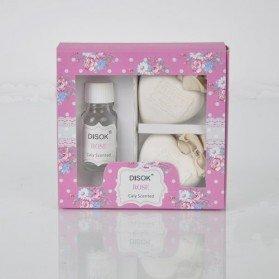Difusor Ambientador + Corazón en caja floral 20 Ml