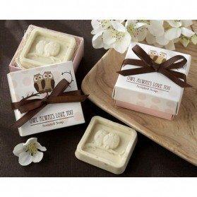 Jabón Aromático Buhos en caja regalo