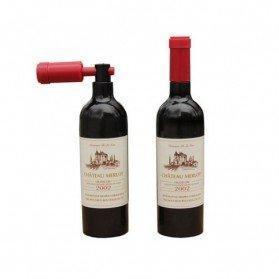 Abrebotellas forma de Botella de Vino en caja