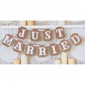 Guirnalda Boda Just Married