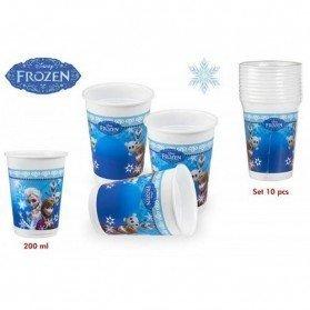 Pack 10 Vasos Frozen