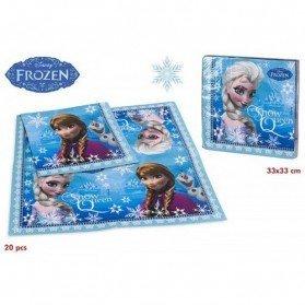 Lote 20 Servilletas Frozen