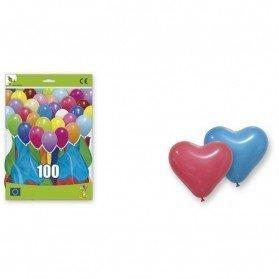 100 Globos Corazón