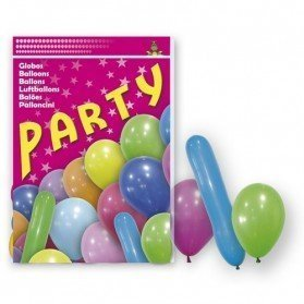 80 Globos Party Mix