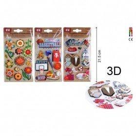 Pegatinas Mix 3D