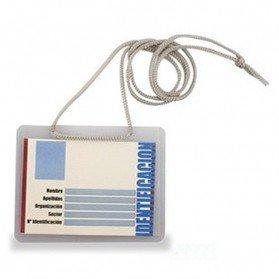 Identificador rígido + Cordón gris